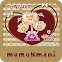 NK 카톡_모모N모니_카멜a 카카오톡테마 icon