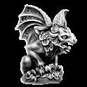 Gargoyle left sticker logo