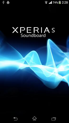 Xperia S Soundboard