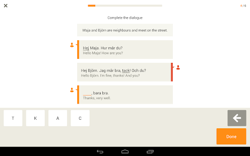 Learn Swedish with Babbel- screenshot thumbnail