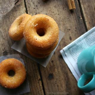 Cinnamon & Sugar Baked Mini Donuts Recipe