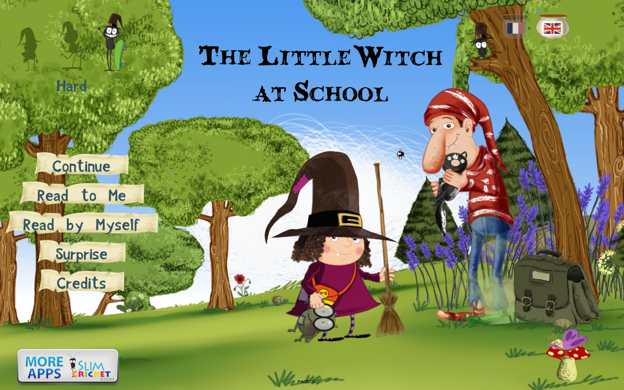 The Little Witch at School- screenshot
