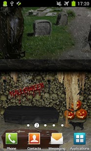 Scary Cemetery Live Wallpaper- screenshot thumbnail