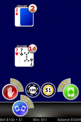 Lucky Sevens Blackjack FREE - screenshot
