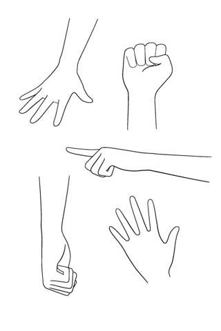How To Draw Hands Manga