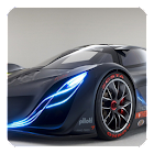 Futuristic Cars Live Wallpaper icon