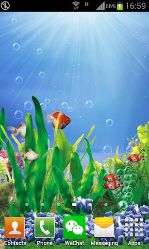 3d 金魚免費動態桌布