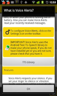 Voice Alerts - screenshot thumbnail