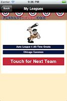 Screenshot of Baseball Sim