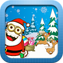 Santa Claus Minion Rush Surfer icon