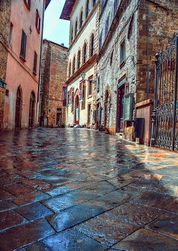 Voltera Street After Summer Rain by Mike Moss - City,  Street & Park  Neighborhoods (  )