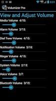 Screenshot of Volumizer