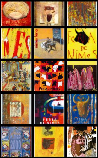 Feria de Nimes - Affiches