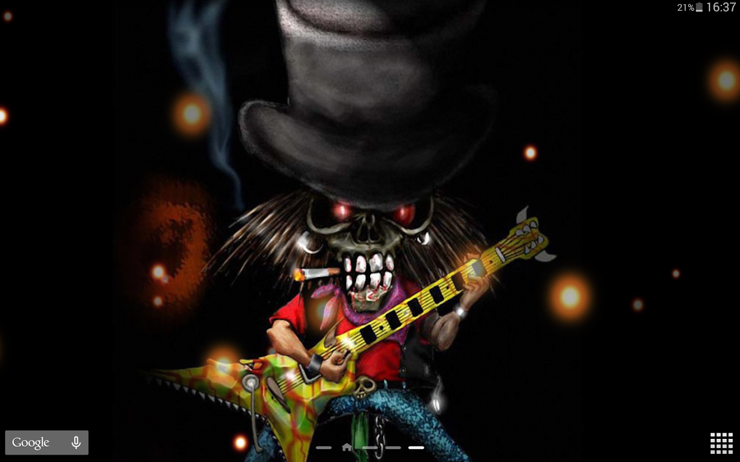 Rock Wallpaper Animasi Apl Android Di Google Play