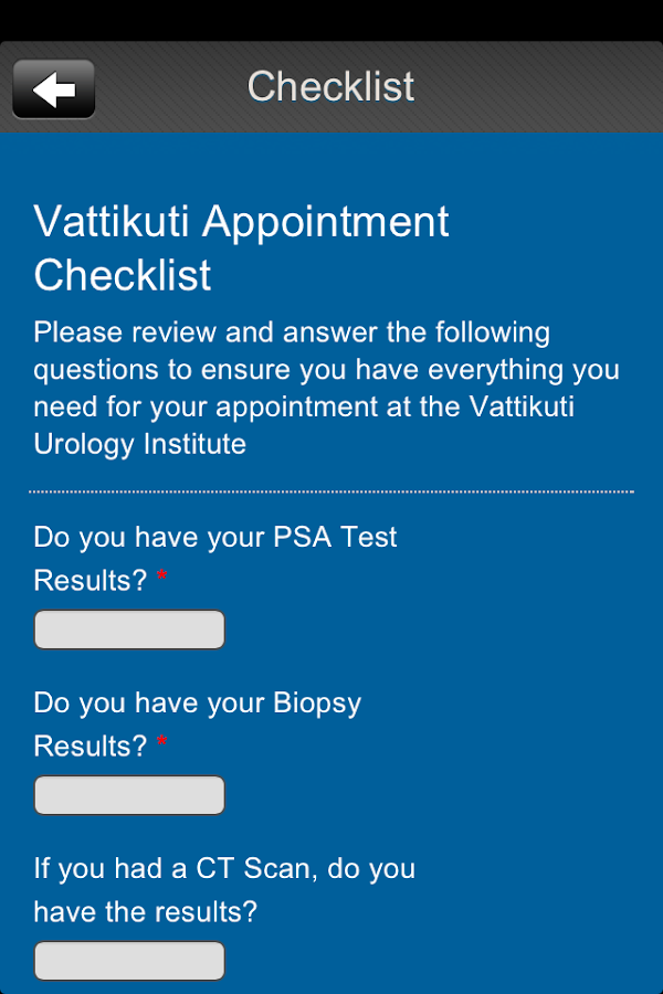 Vattikuti Urology- screenshot
