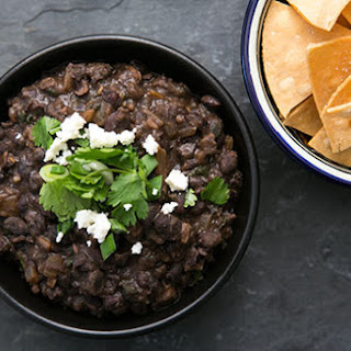 Refried Black Beans.