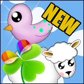 Happy Farm GO Launcher Theme