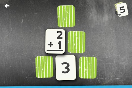 Addition Flash Card Match Kids- screenshot thumbnail