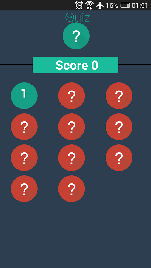 Quiz Game - screenshot
