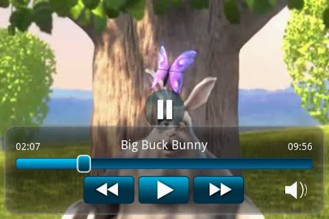 Big Buck Bunny Movie App- screenshot thumbnail