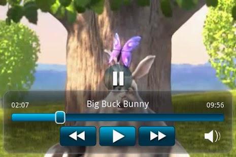 Big Buck Bunny Movie App- screenshot thumbnail