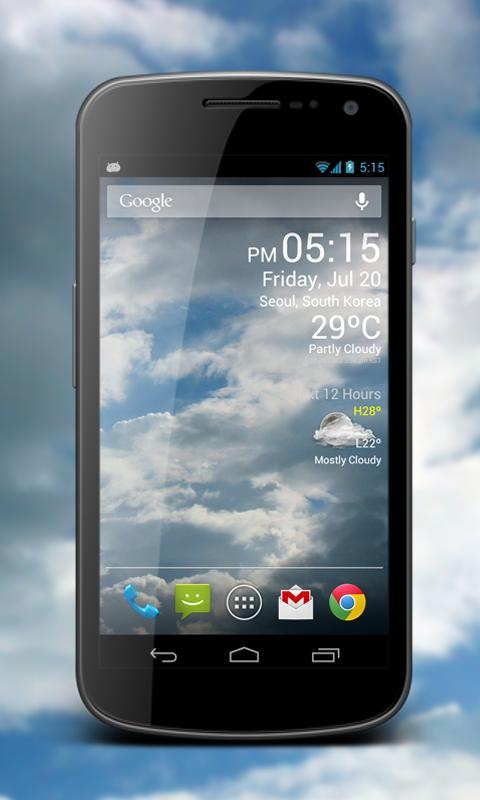 Weather Clock Live Screenshot 0