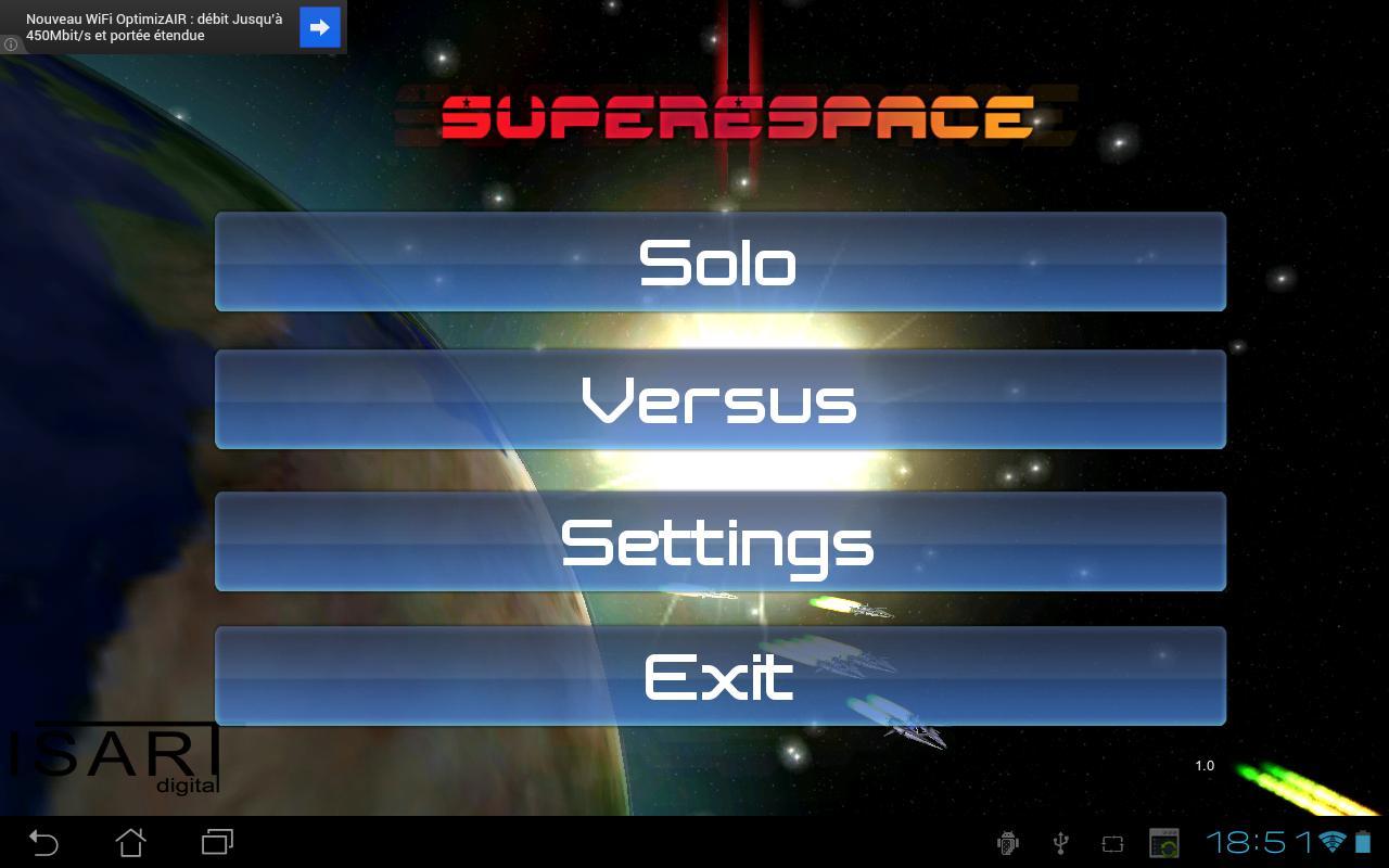 SuperEspace- screenshot