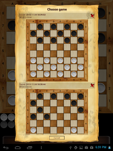 Russian checkers - Shashki  screenshots 12