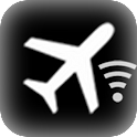 Airplane Wi-Fi Vibrate icon