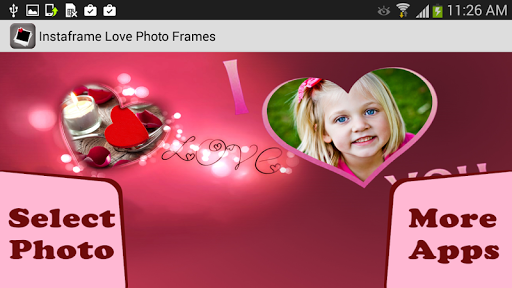 Instaframe Love Photo Frames