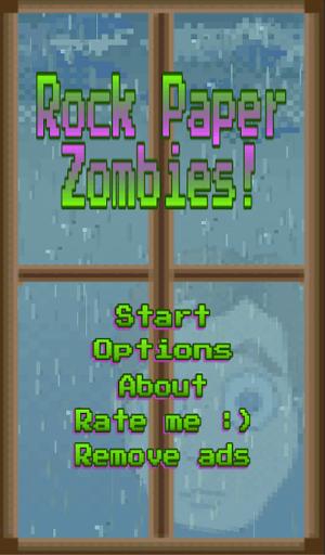 Rock Paper Zombies