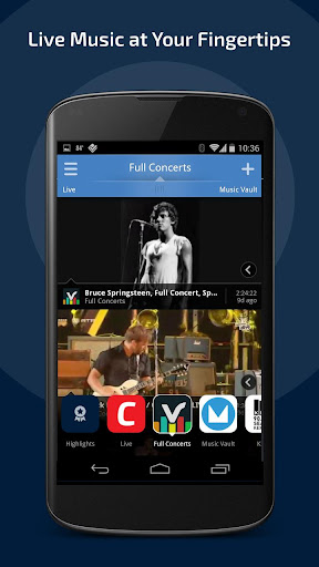 Concerts TV: Live Music Videos