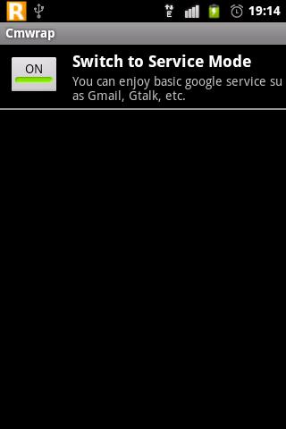 CMWRAP- screenshot