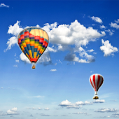 SKY BALLOON LIVE WALLPAPER HD