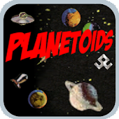 Planetoids Full asteroid game
