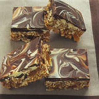Chocolate Marbled Energy Bars