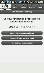 Legal aid - the Appvocaat- screenshot thumbnail