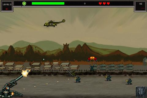 Border War Defence Patrol- screenshot