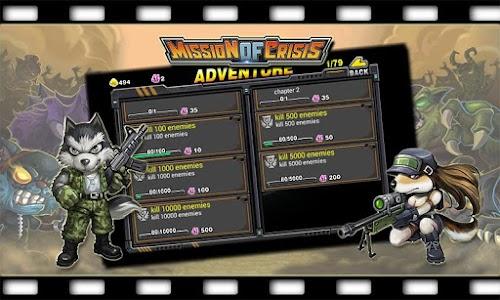 Mission Of Crisis v1.5.1.0 (Mod Money)
