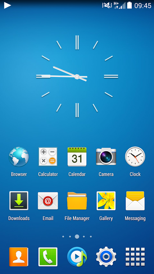 CM11 CM10.2 GALAXY S4 TW theme - screenshot