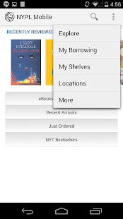 NYPL Mobile- screenshot thumbnail
