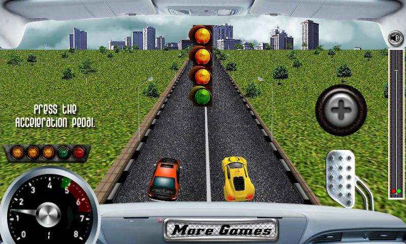 3D Rush Racing - screenshot