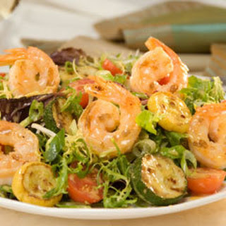 Honey Mustard Shrimp Salad.