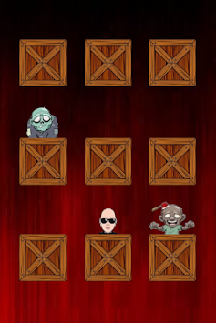 Bloody Zombie Behind Crate apk screenshot