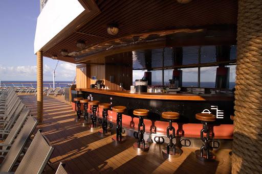 Carnival-Splendor-Lido-Aft-Bar - The Lido Aft Bar aboard Carnival Splendor.