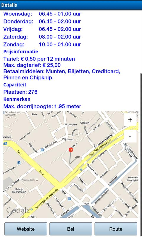 Parkeerlijn.nl- screenshot
