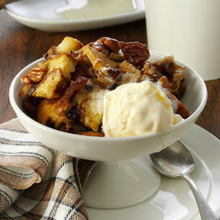 Apple-Nut Bread Pudding