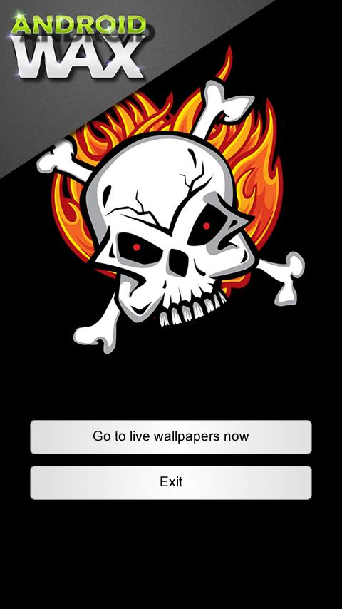 ★ Flames and Skulls - screenshot