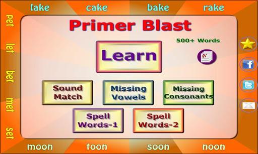 Primer Blast: Grades 1 2