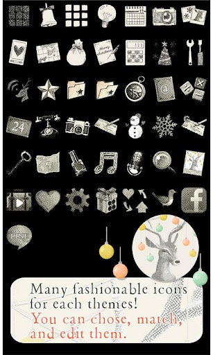 Christmas Reindeer Wallpaper 1.0.1 Windows u7528 4